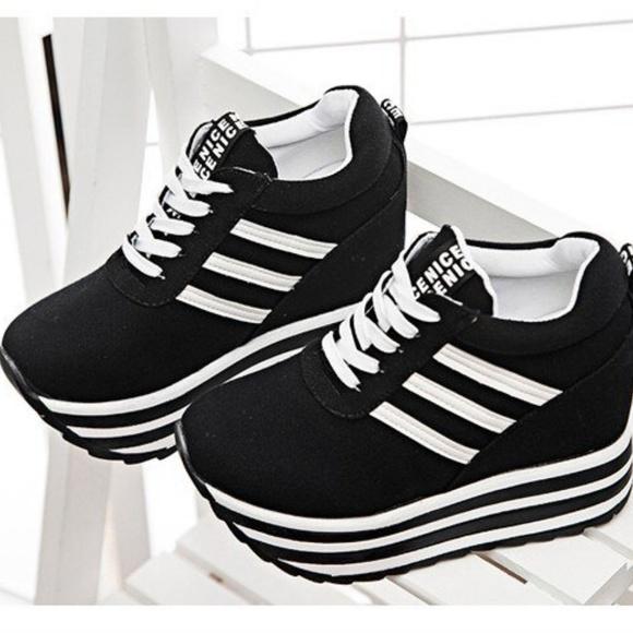 Platform Tennis Shoe Sneakers | Poshmark